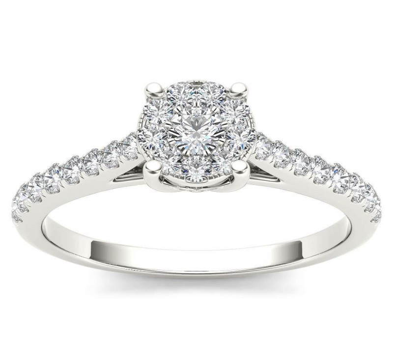 Diamond Engagement Rings Shopping For A Nice Pair