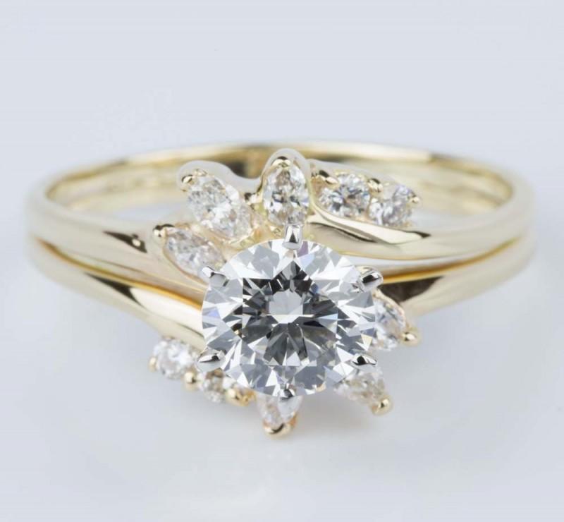 symbolic wedding rings