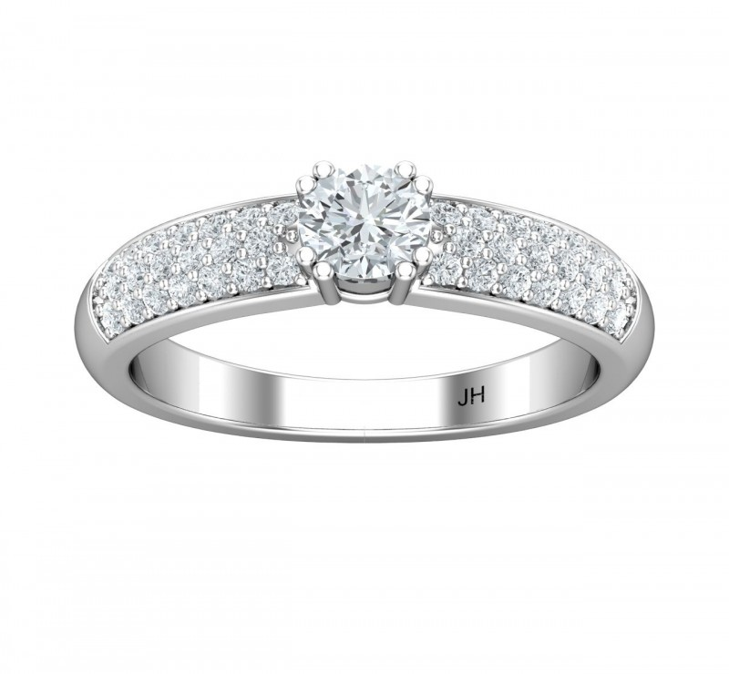 Purchasing Wedding Rings Online | Diamond District Block