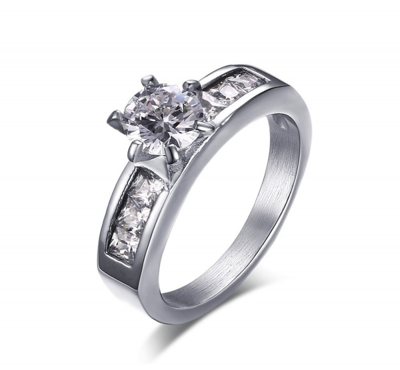 Affordable Diamond District Titanium Engagement Rings