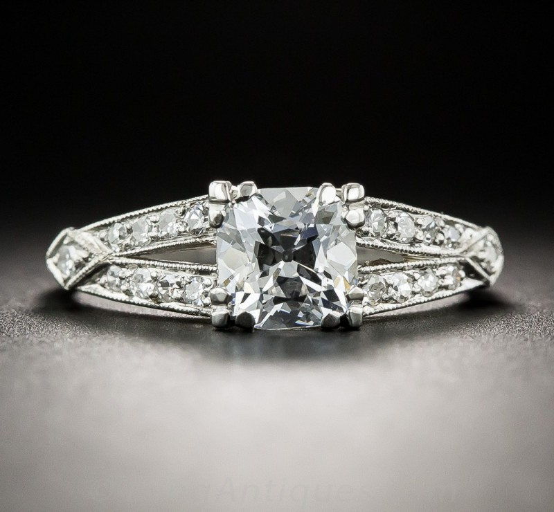 Diamond District Antique Engagement Rings