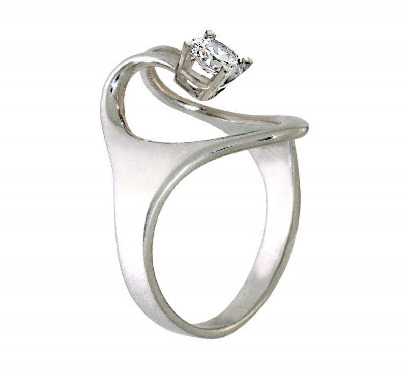 Engagement Ring From Diamond District Stores
