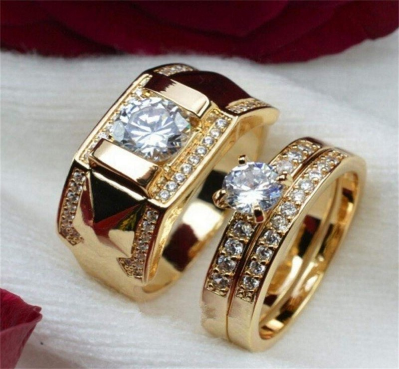 Unique Gold Wedding Ring