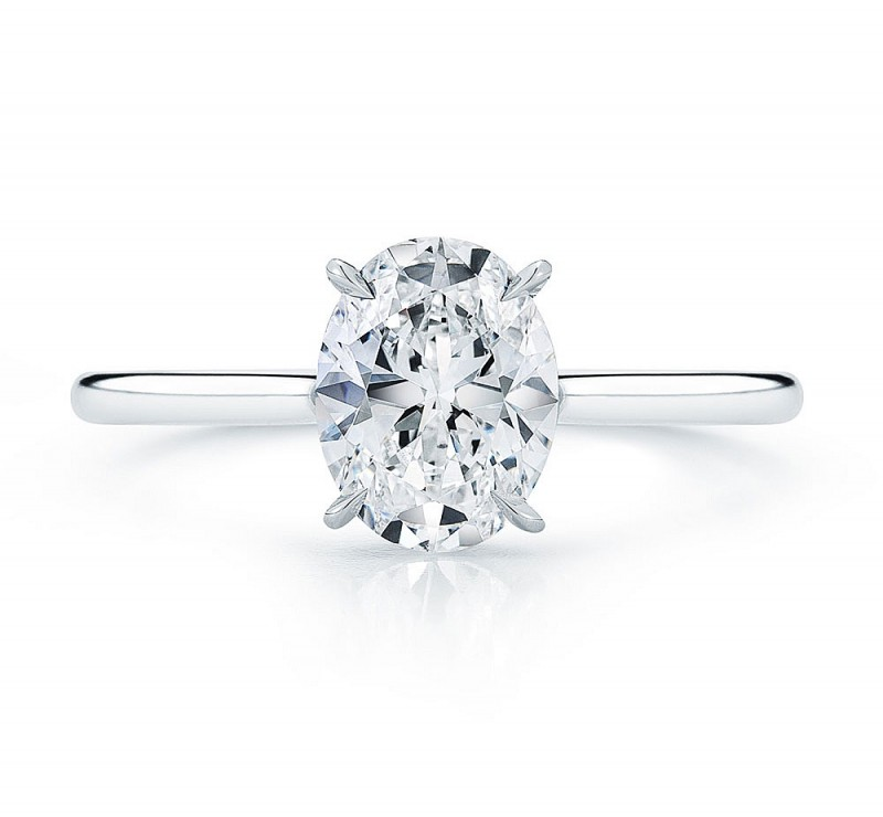 Modest Wedding Ring | Diamond District Block