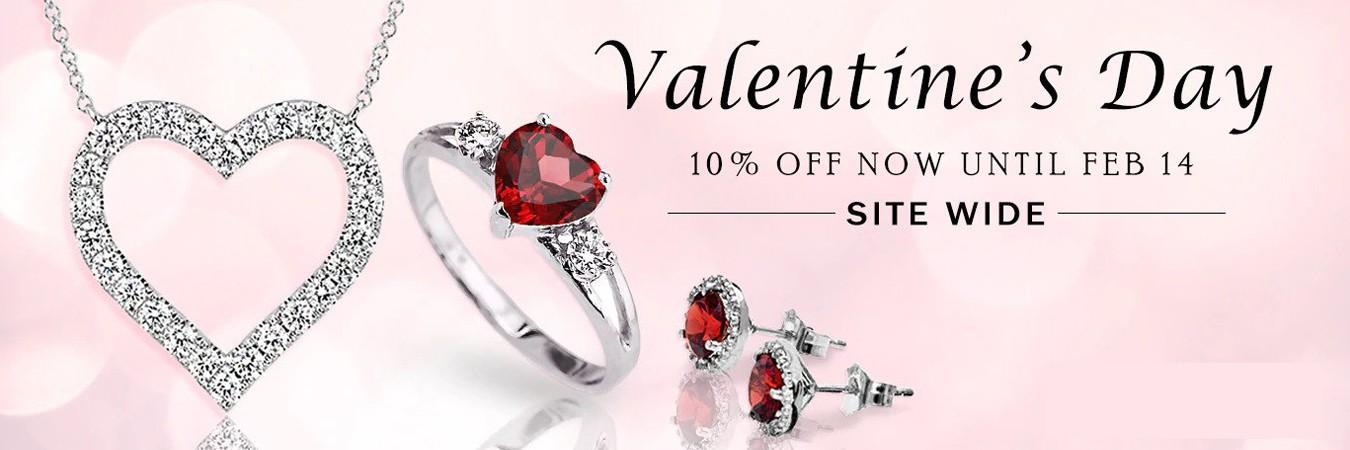 Valentine's Day 10% Off