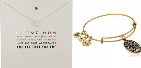 jewelry gifts for mother